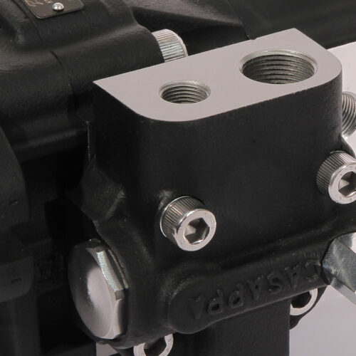 Valvole integrate per pompe e motori a ingranaggi